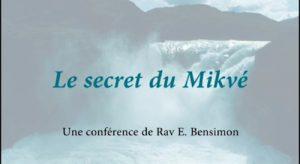 Le secret du Mikvé