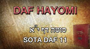 Daf Hayomi – Sota : page 11
