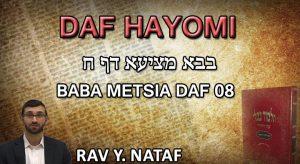 Daf Hayomi – Babametsia: page 08
