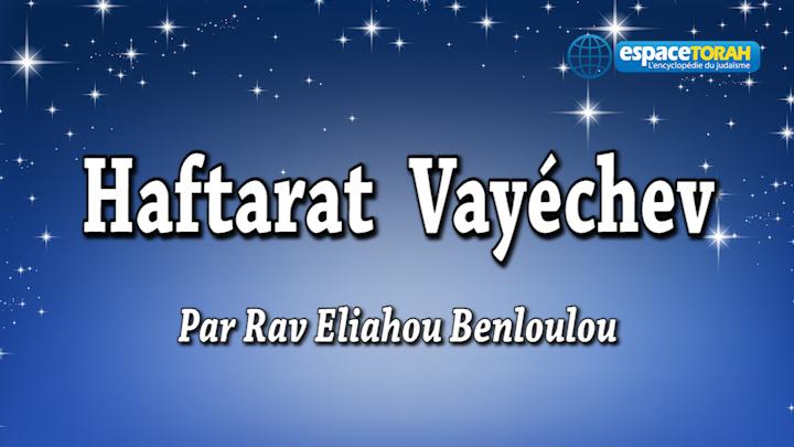 Haftarat Vayiechev