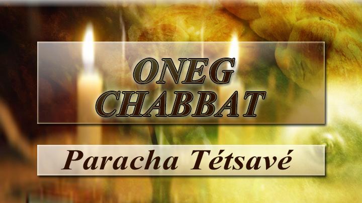 Oneg chabbat image tetsave