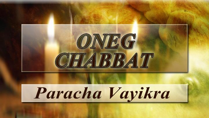 Oneg chabbat image vayikra
