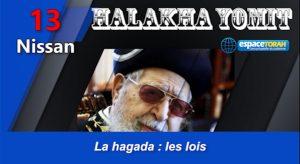La hagada : les lois