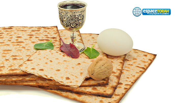 Food attributes of Jewish Passover Seder Holidays