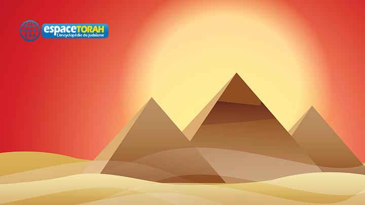 Pyramid at sunset