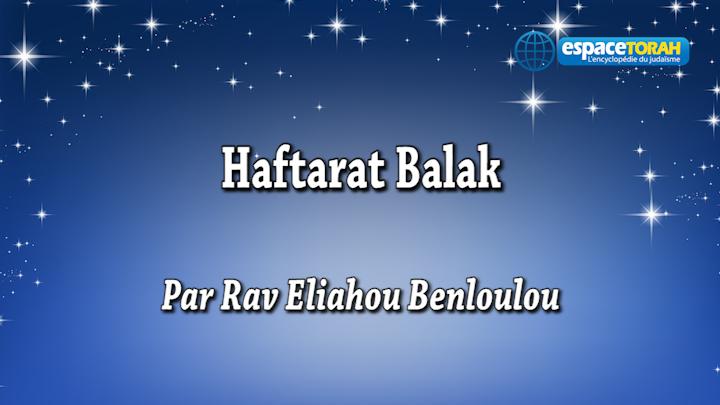 Haftarat Balak