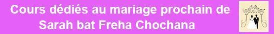 Sarah bat Freha Chochana